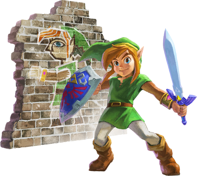 Artwork de Link em A Link Between Worlds