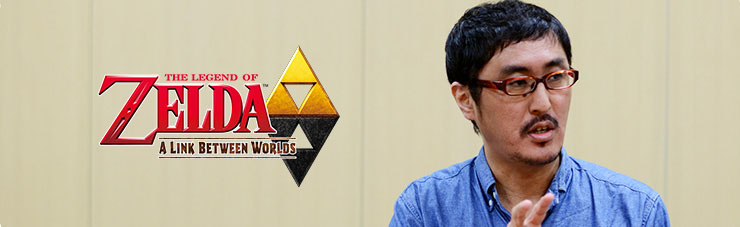 Iwata Asks - A Link Between Worlds