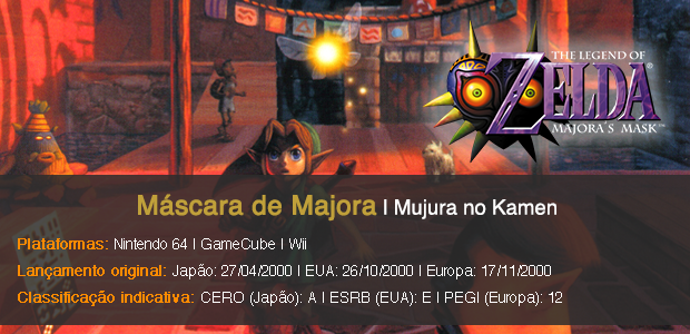 Majora's Mask - Info Sheet