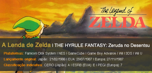 The Legend of Zelda Info Sheet